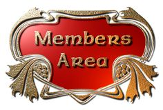 Région de membres (encadrée) illustration stock