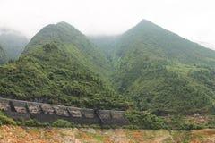 Région de montagne Image libre de droits