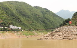 Région de montagne Photo stock