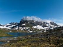 Région de montagne norvégienne photos libres de droits