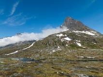 Région de montagne norvégienne Photographie stock libre de droits