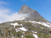 Région de montagne norvégienne Image stock
