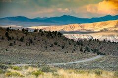 Région de montagne spectaculaire de whiskey photos libres de droits