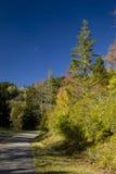 Région de Mtn d'oléorésine, automne photo stock
