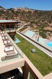 Région de récréation d'hôtel de luxe Images libres de droits