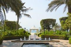 Région de récréation d'hôtel luxueux Photo stock