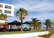Région de récréation de l'hôtel de luxe Photo stock