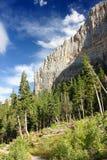 Région de récréation nationale de montagnes de source Photos stock