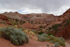 Région de région sauvage de canyon de Paria Image stock