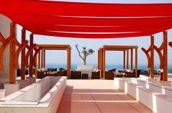 Région de relaxation d'hôtel de luxe moderne Photo libre de droits