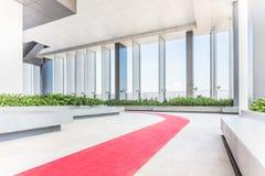 Région de repos d'un bâtiment, l'espace large dans un bâtiment Intérieur de Photographie stock libre de droits