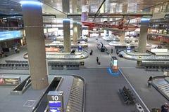 Région de retrait des bagages Images stock