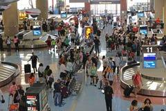 Région de retrait des bagages Photographie stock libre de droits