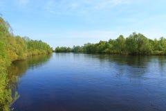 Région de rivière Photographie stock
