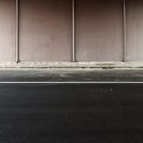 Région de route Photographie stock