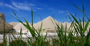 Région de sel Photographie stock