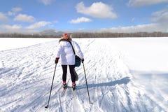 Région de ski à l'observation Hil de Hitsuji Photographie stock