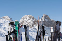 Région de ski Dachstein Ramsau - Autriche image stock