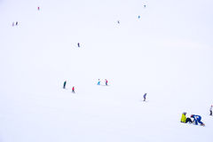 Région de ski dans Niseko Photo libre de droits