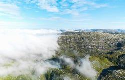 Région de Stavanger Photographie stock libre de droits