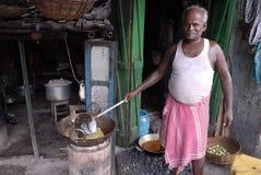 Région de taudis de Kolkata Photographie stock libre de droits