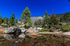 Région de traînée d'automne de queue de cheval, le lac Tahoe Photo libre de droits