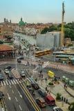 Région de Venise devant le stationnement de voiture Photo stock