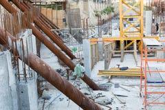 Région de ville en construction Images libres de droits