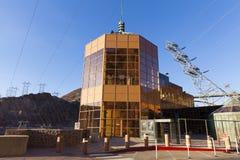Région de visite de barrage de Hoover dans la ville de Boulder, nanovolt le 13 mai 2013 Images stock