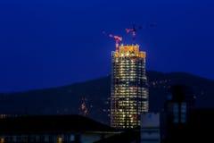 Région delal de gratte-ciel à Turin Images libres de droits