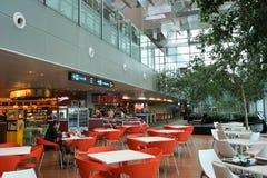 Région dinante d'aéroport de Changi Photographie stock