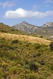 Région espagnole de montagne photos stock