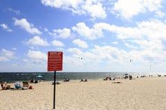 Région indiquée de sport aquatique Photos libres de droits