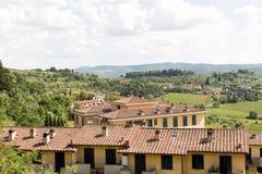 Région Italie de chianti image libre de droits