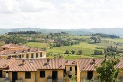 Région Italie de chianti images libres de droits