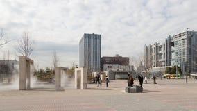Région moderne d'Odaiba - de Tokyo images libres de droits