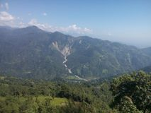 Région naturelle d'Inde Images libres de droits