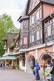 Région orientée de l'Allemagne - parc d'Europa dans la rouille, Allemagne Images libres de droits