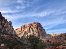 Région rouge de conservation de canyon de roche, Nevada, Etats-Unis Photos stock