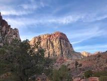Région rouge de conservation de canyon de roche, Nevada, Etats-Unis Photographie stock