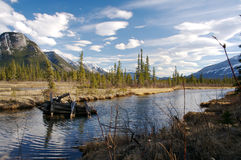 Région sauvage canadienne Images stock