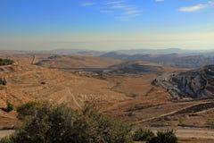 Région sauvage de désert de Judean en Israël Images stock
