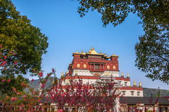 Région scénique cinq Yin Tan City de Bouddha de géant de Wuxi Lingshan Images libres de droits