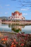 Région scénique cinq Yin Tan City de Bouddha de géant de Wuxi Lingshan Photographie stock