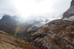 Région scénique de Yading en Chine Photo stock