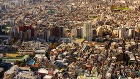 Région serrée par résidence japonaise de panorama photo libre de droits