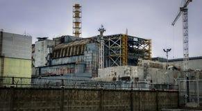 région Ukraine de pouvoir de centrale nucléaire de monument de mémoire de Kiev de désastre de chernobyl Images libres de droits