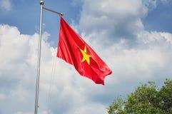 Région vietnamienne du Vietnam Ben Duoc Scenic de drapeau Images libres de droits