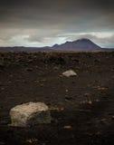 Région volcanique active géothermique de Namaskard Images stock