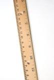 Régua de madeira Fotografia de Stock